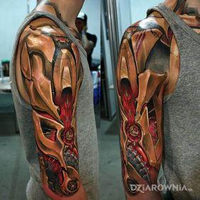Tatuaże Biomechanika Wzory I Galeria Dziarowniapl