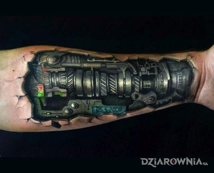 Tatuaż mechanizm - biomechanika