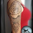 Róża w mandali