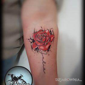 Róża z imieniem