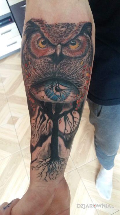 Tatuaż skonczony - zwierzęta
