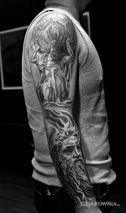 Tatuaż Motyw Z Greckiej Mitologii Autor Populus
