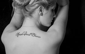 Cytaty na tatuaż dla kobiet #3