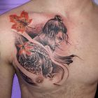 Tatuaż Pinokio Autor Mariusz Góralski Dziarowniapl