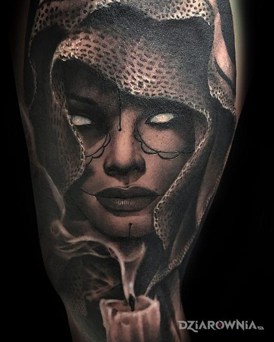 Tatuaż Brak Oczu Autor Miszor246 Dziarowniapl