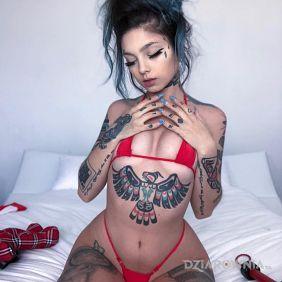 Czerwone bikini