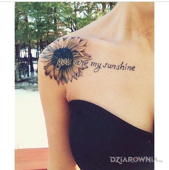 Tatuaż Słońce Autor Martyna19 Dziarowniapl