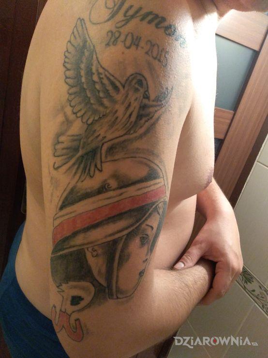 Tatuaż moje życzę - patriotyczne