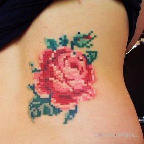 Róża jak u babci