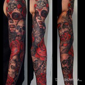 Tatuaże Twarze Wzory I Galeria Strona 8 Dziarowniapl