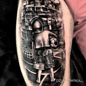 Tatuaże Na Nodze Wzory I Galeria Dziarowniapl