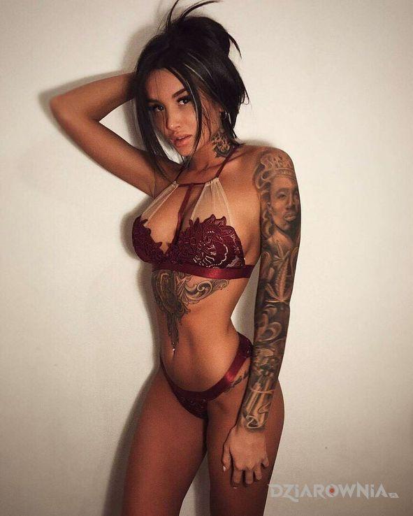 Tatuaż lalunia - twarze