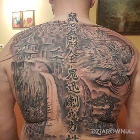 Tatuaże Japońskie Wzory I Galeria Dziarowniapl