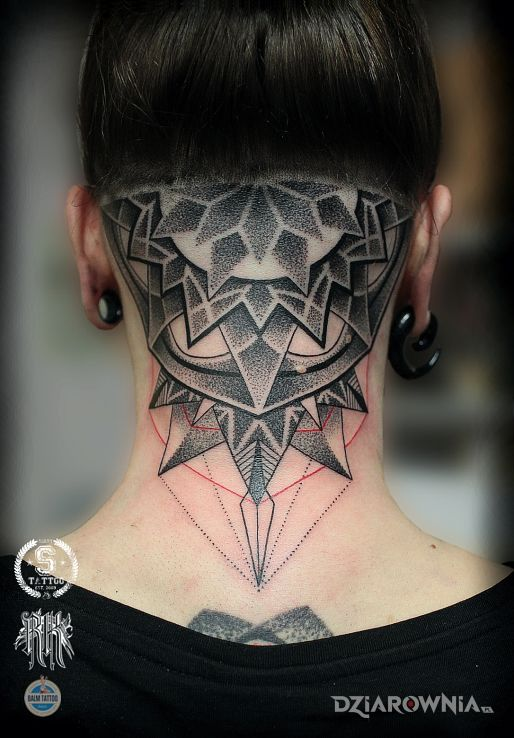 Tatuaż rozeta - pozostałe