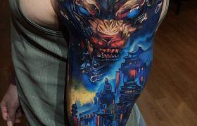 Najlepsi tatuażyści z Ukrainy część IV!