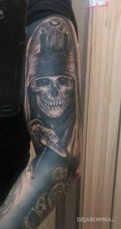 Tatuaż czecha - czaszki