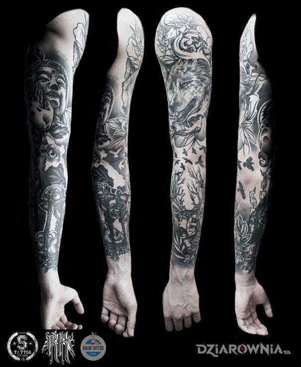 Tatuaż Miejsca Na świecie Autor Szerytattoo Dziarowniapl