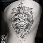 Lew w geometrii
