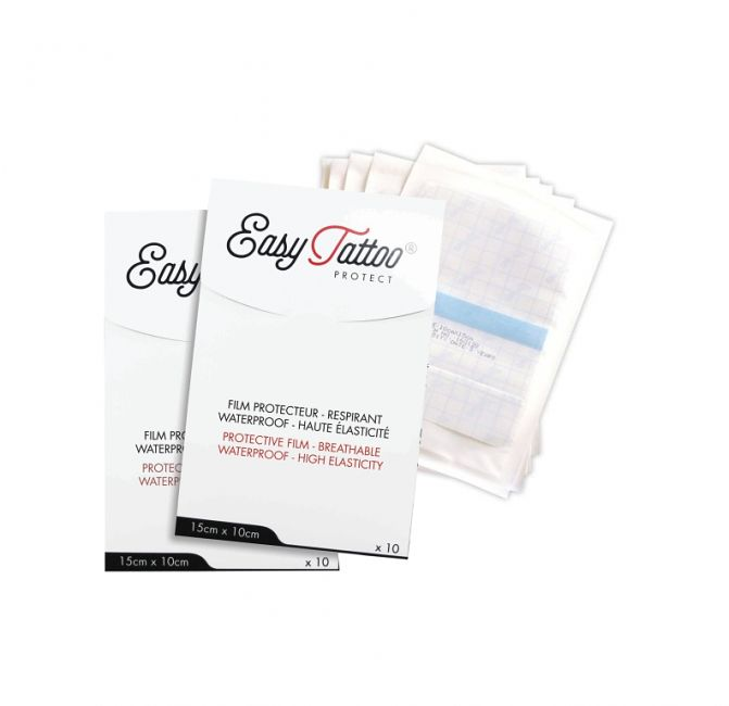 Folia ochronna do tatuażu EasyTattoo w arkuszach
