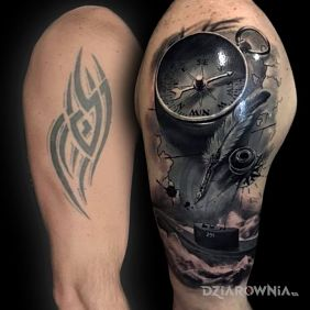Tatuaże Cover Up Wzory I Galeria Dziarowniapl