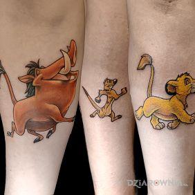 Tatuaże Dla Par Wzory I Galeria Dziarowniapl
