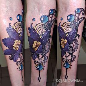 Tatuaże Kwiaty Wzory I Galeria Strona 7 Dziarowniapl