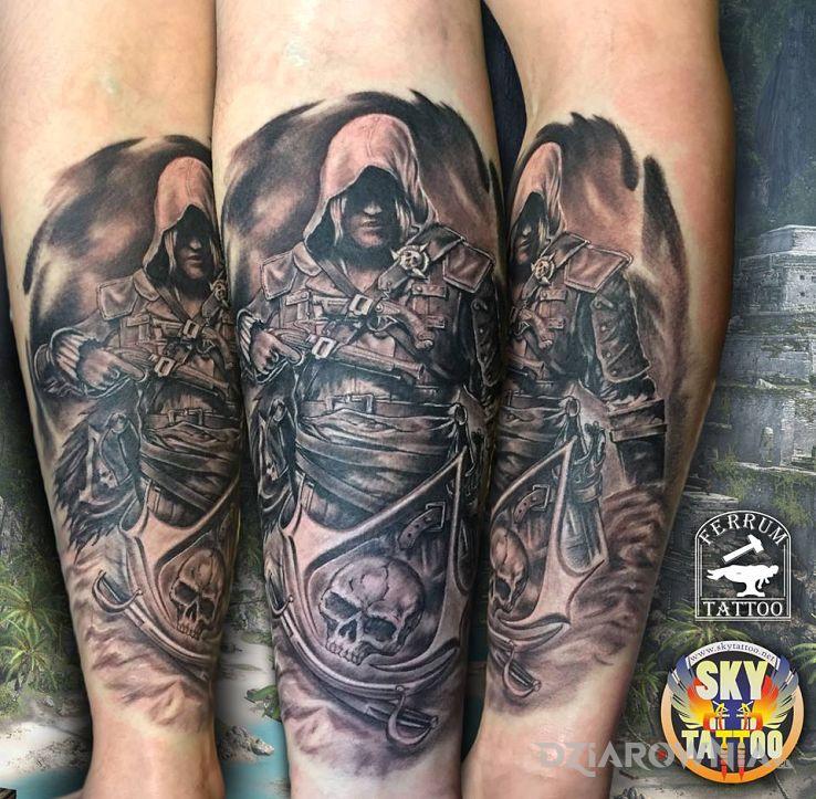 Tatuaż assasin - postacie