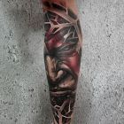 God of war tattoo