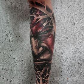 God of war tattoo