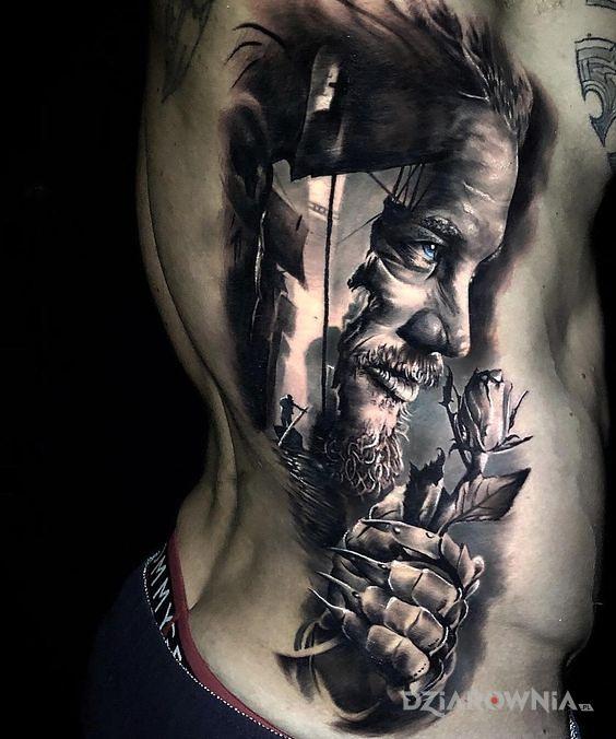 Tatuaż ragnar - 3D