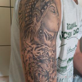 Tatuaże Indiańskie Wzory I Galeria Dziarowniapl