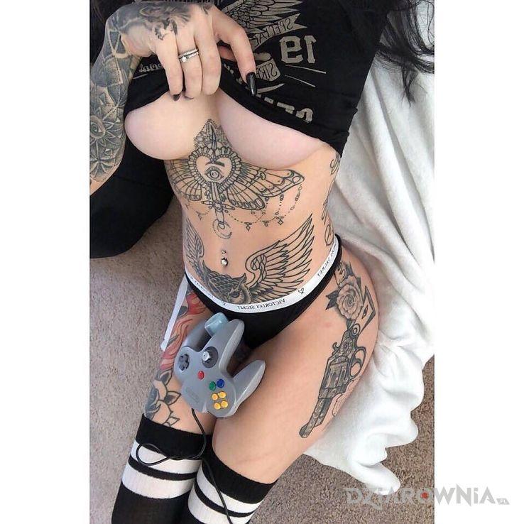 Tatuaż fajny ten pad - pozostałe