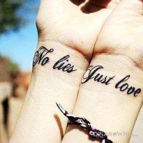 No lies just love